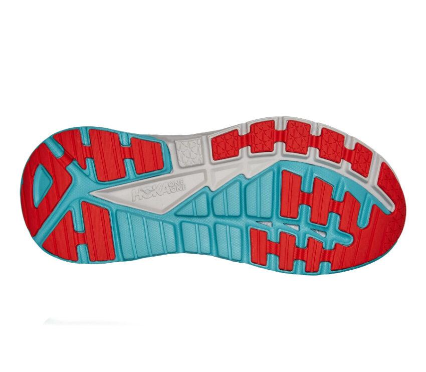suola scarpa running uomo hoka gaviota 3 blu e azzurra