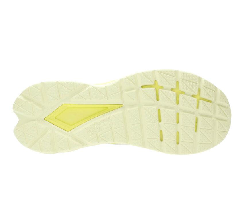 suola scarpa da running uomo hoka mach 4 gialla