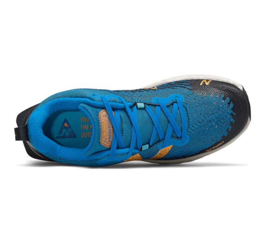 tomaia scrapa da trail running new balance hierro v6 blu