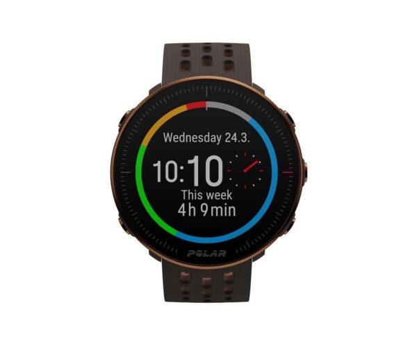 orologio GPS running Polar m2 marron