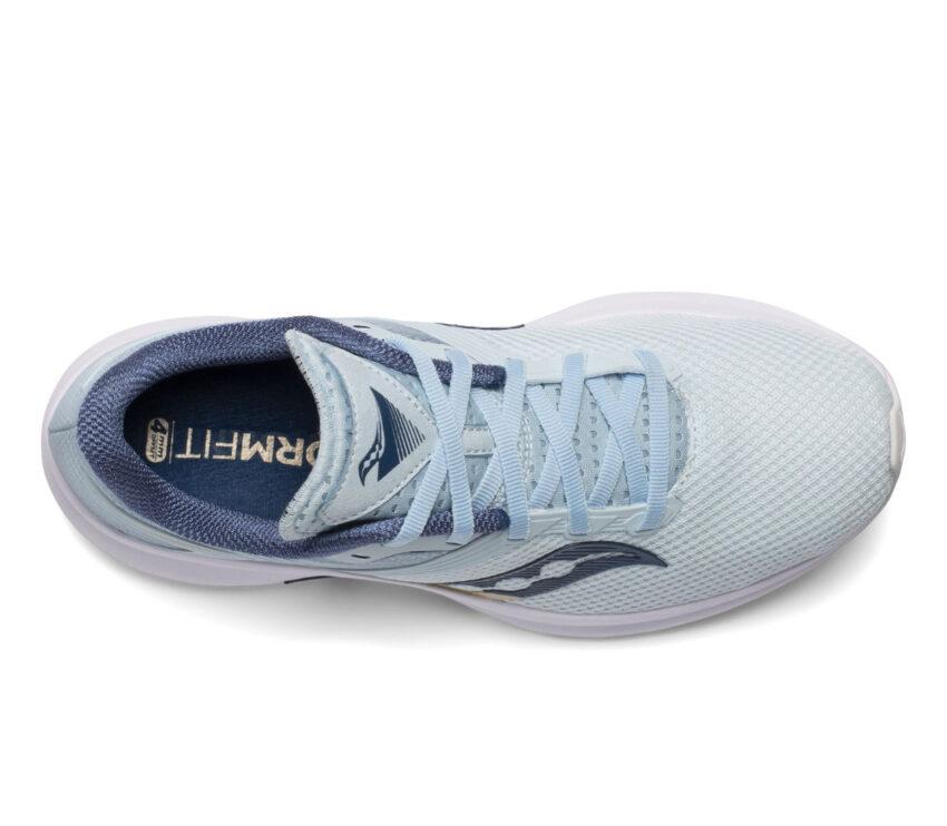tomaia scarpa da running donna saucony axon azzurra