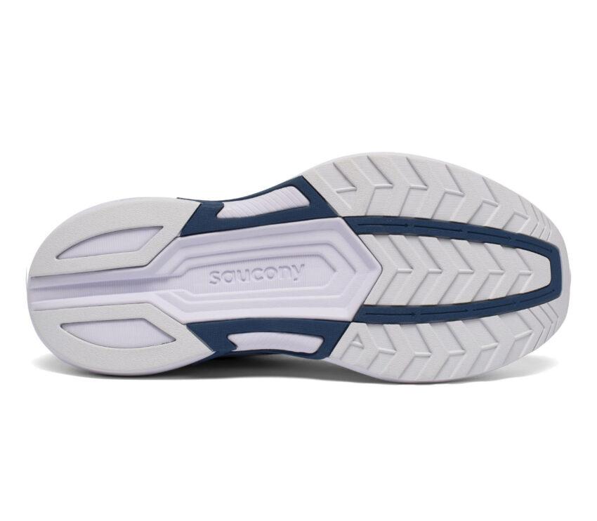 suola scarpa da running donna saucony axon azzurra