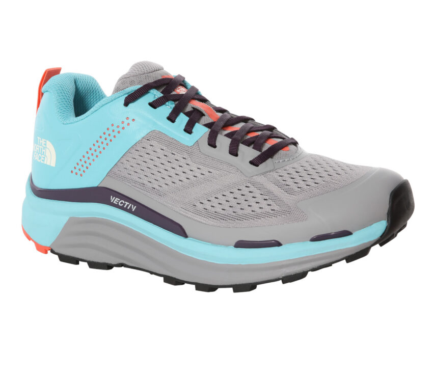 scarpa da trail running donna north face flight enduris azzurra
