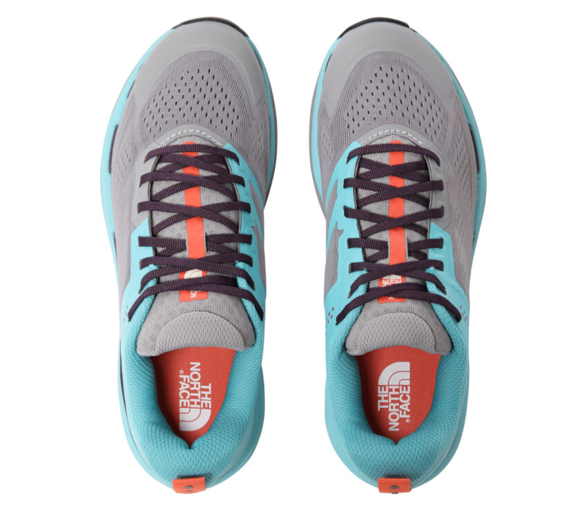 tomaia scarpa da trail running donna north face flight enduris azzurra