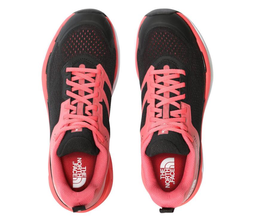tomaia scarpa da trail running per donna north face vectiv enduris rossa