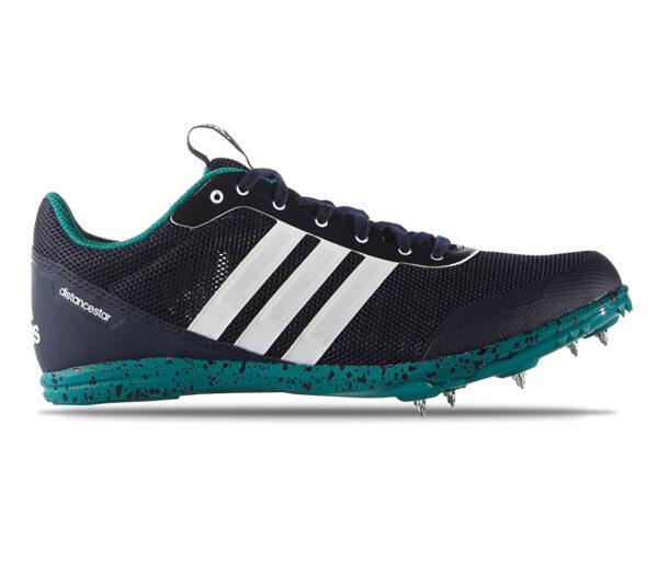 scarpa da mezzofondo donna adidas distancestar blu scuro