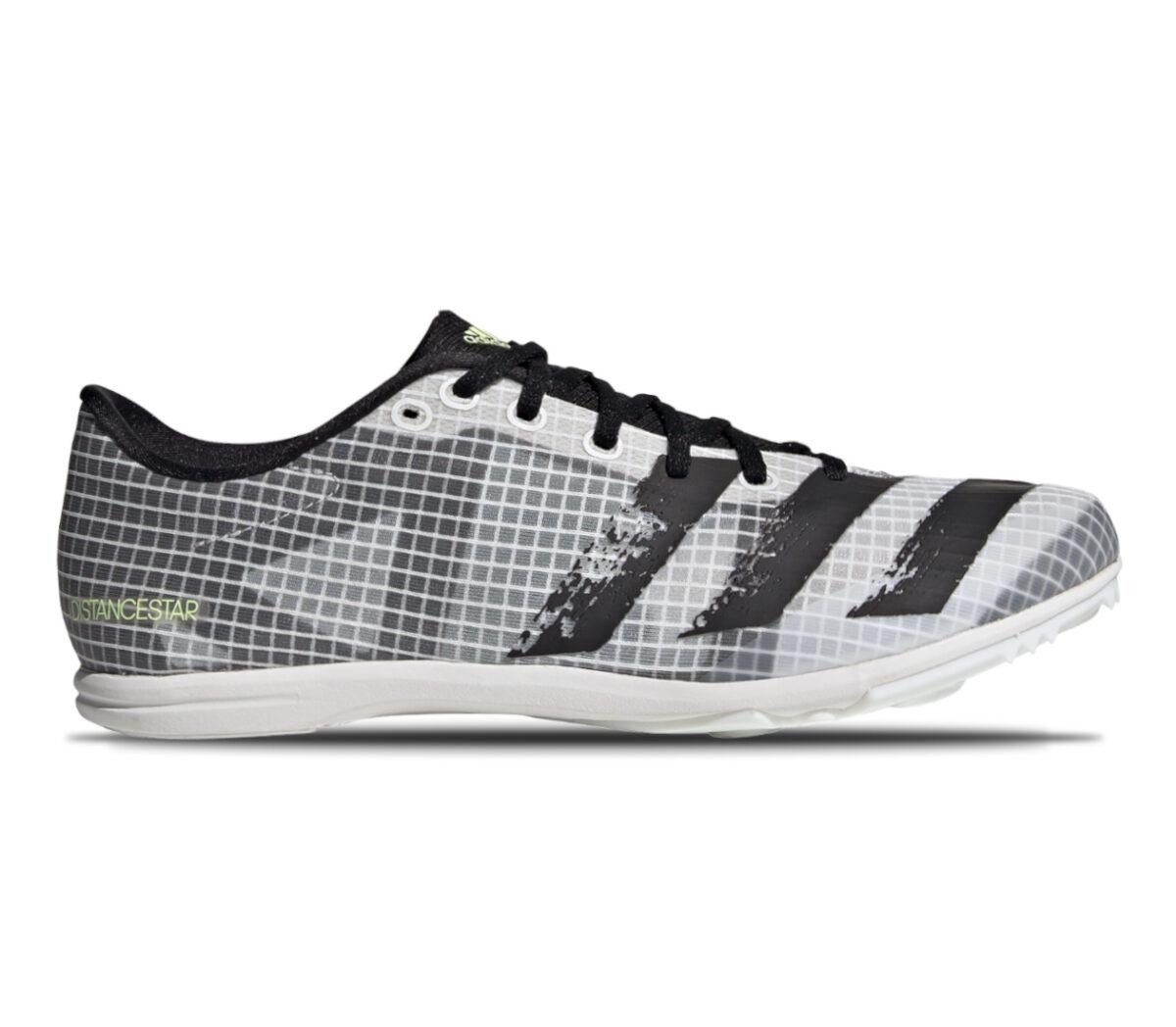 scarpa da mezzofondo per donna adidas distancestar grigia