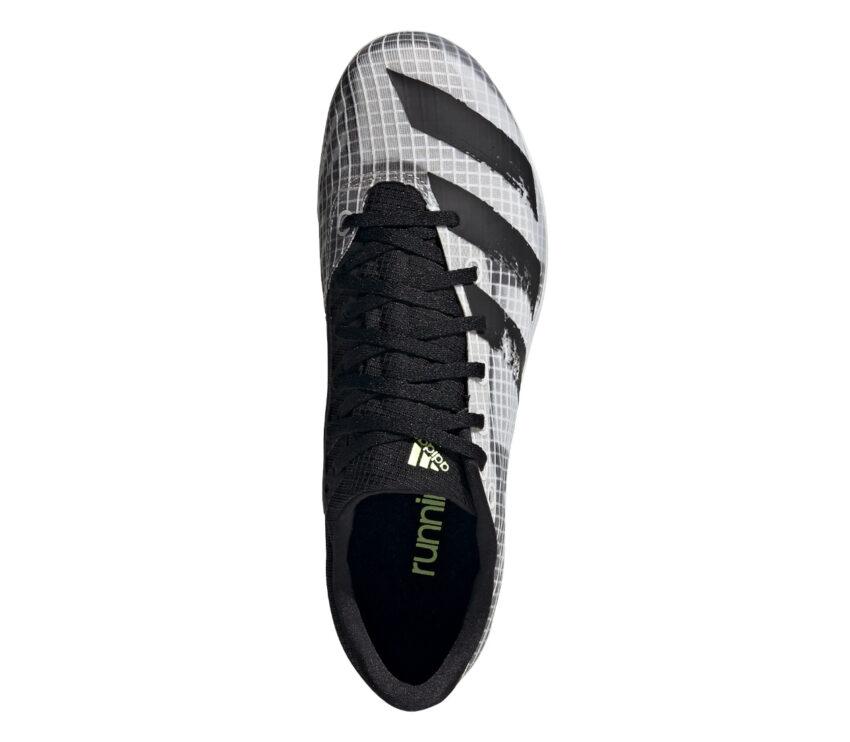 tomaia scarpa da mezzofondo per donna adidas distancestar grigia