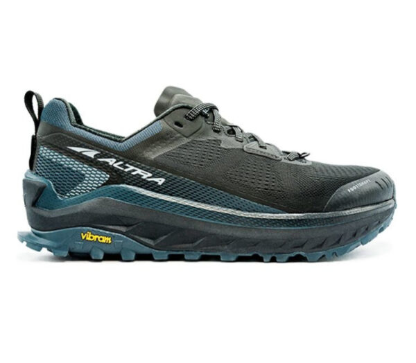 scarpa da trail running uomo altra olympus 4 blu