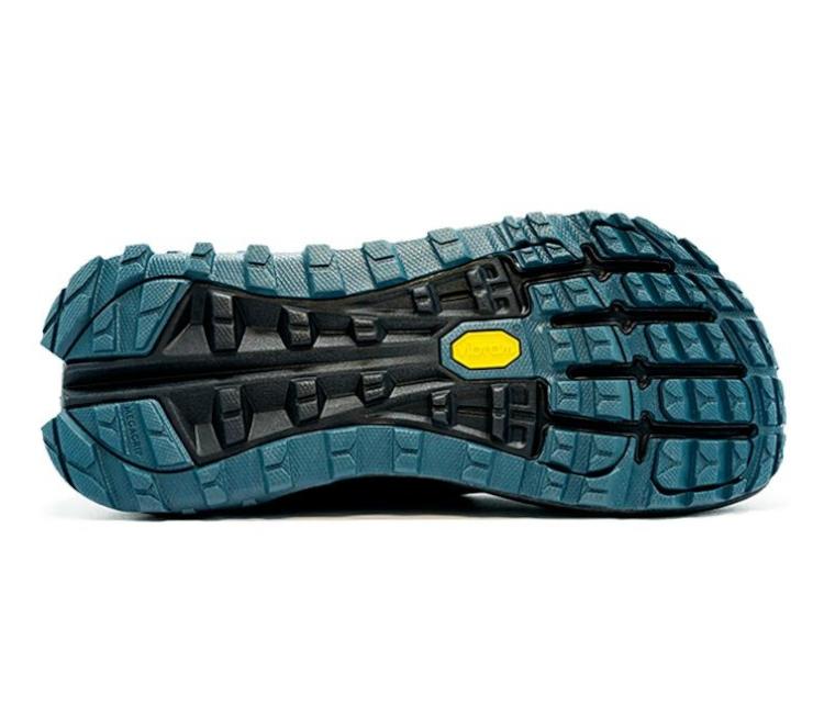 suola scarpa da trail running uomo altra olympus 4 blu