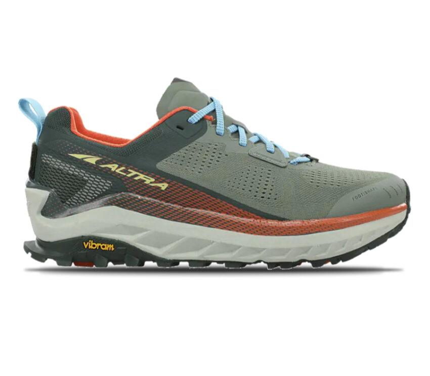 scarpa da trail running uomo altra olympus 4 grigia