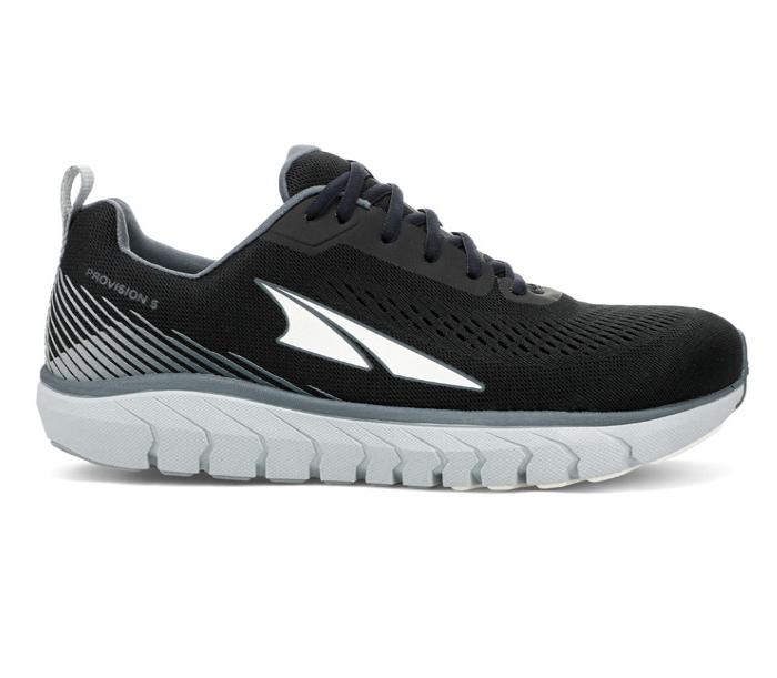 scarpa nera running stabile altra provision 5