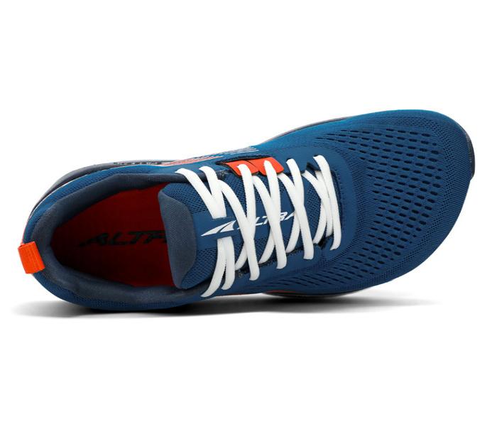 scarpa running stabile uomo blu altra running provision 5 vista dall'alto
