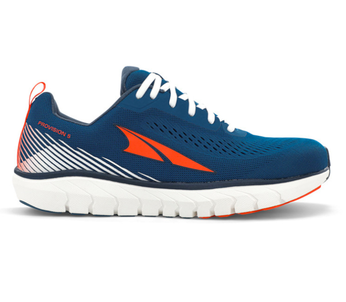 scarpa running stabile uomo blu altra running provision 5