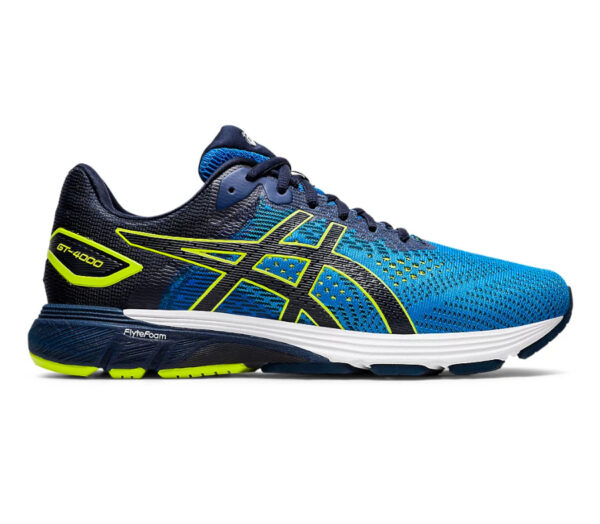 scarpa running per runner pronatori asics gt 4000 2 blu