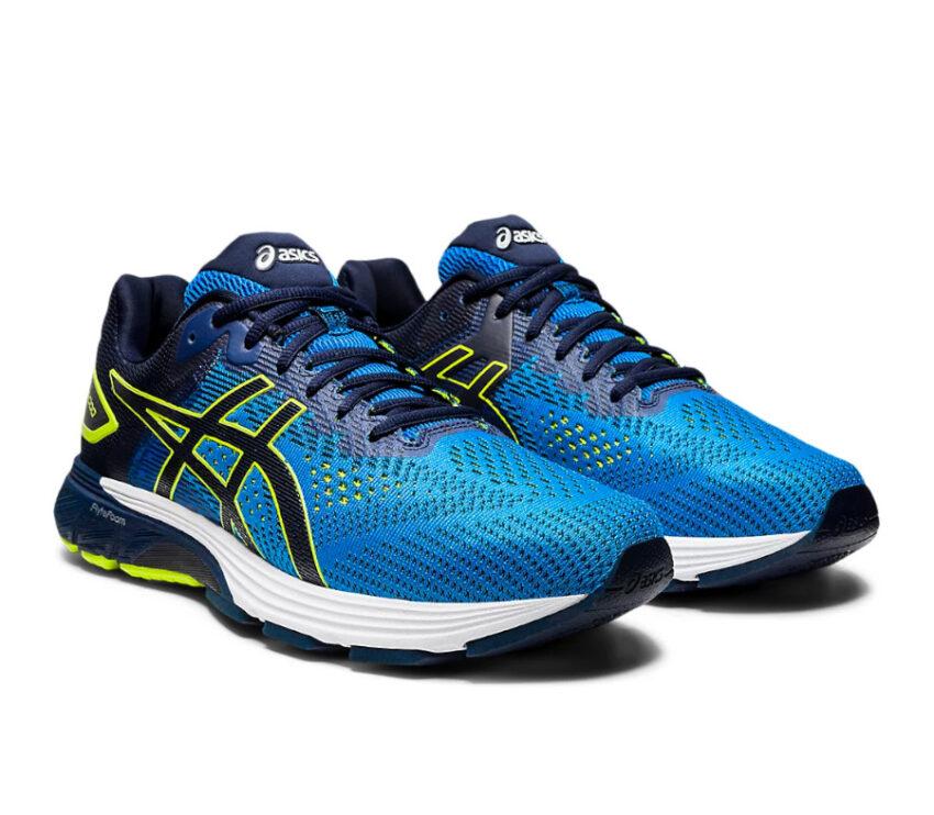 coppia scarpe running per pronatori asics gt 2000 4 blu