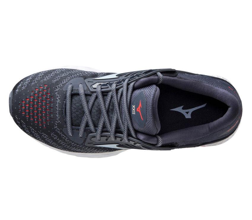 scarpa per runner pesanti mizuno wave creation 22 vista da sopra