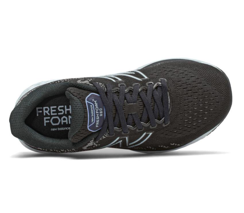 scarpa running donna nera new balance fresh foam 880 v11 vista da sopra