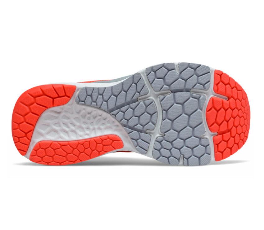 suola scarpa running donna arancione new balance fresh foam 880 v11