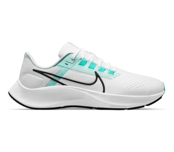 scarpa running donna nike pegasus 38 bianca