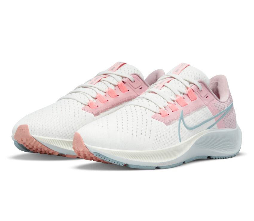 coppia scarpa da running donna nike zoom pegasus 38 rosa