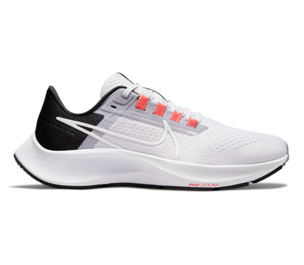 scarpa da running donna nike pegasus 38 bianca e grigia