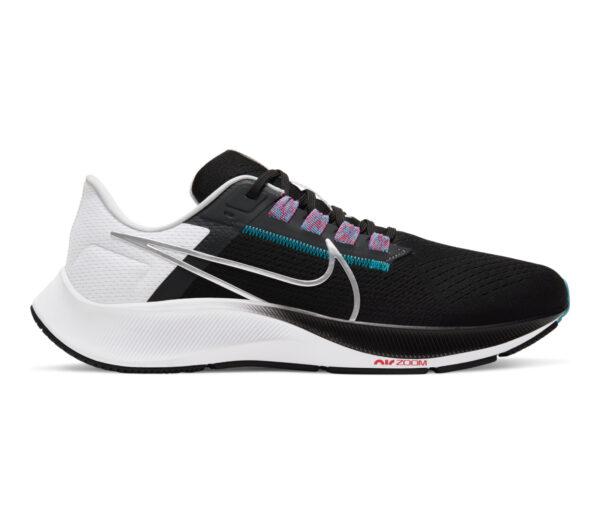 scarpa running uomo nike pegasus 38 nera bianca