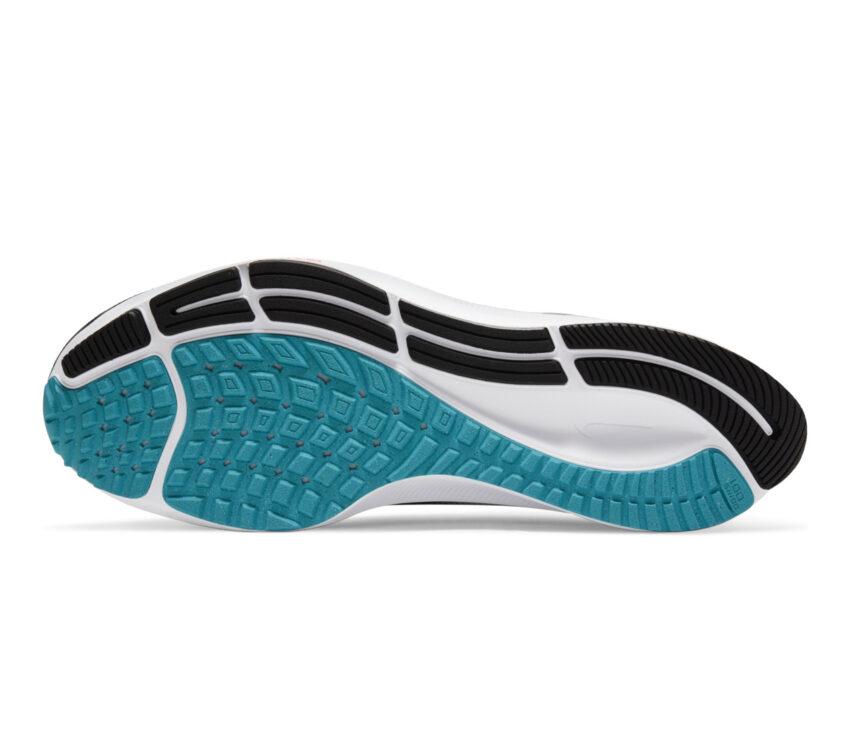 suola scarpa running uomo nike pegasus 38 nera bianca