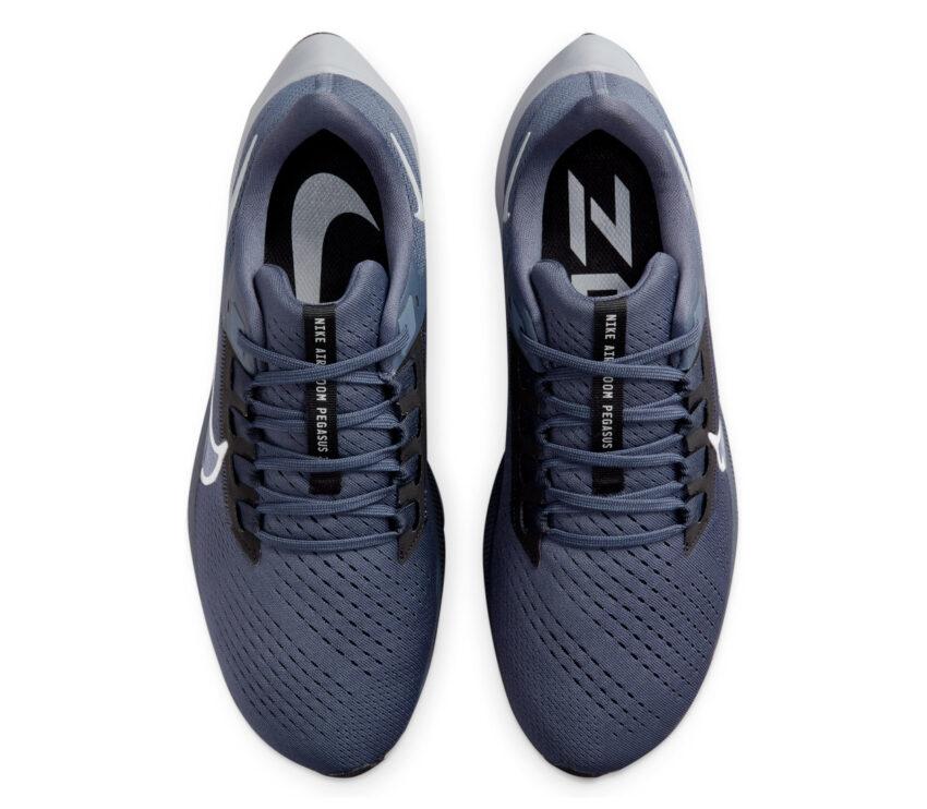 tomaia scarpa neutra running uomo nike pegasus 38 blu