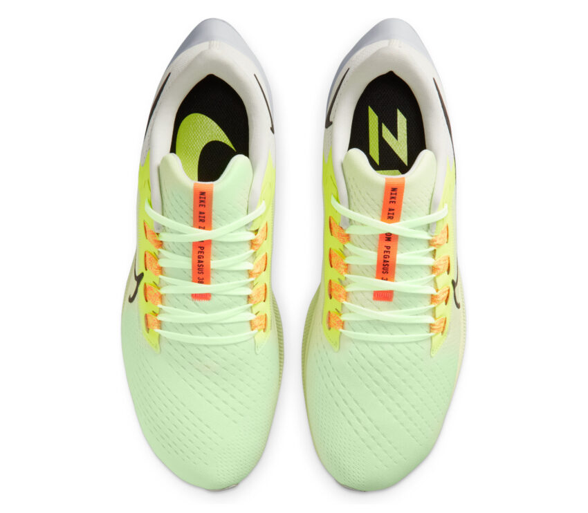 tomaia scarpa running neutra uomo nike pegasus 38 fluo