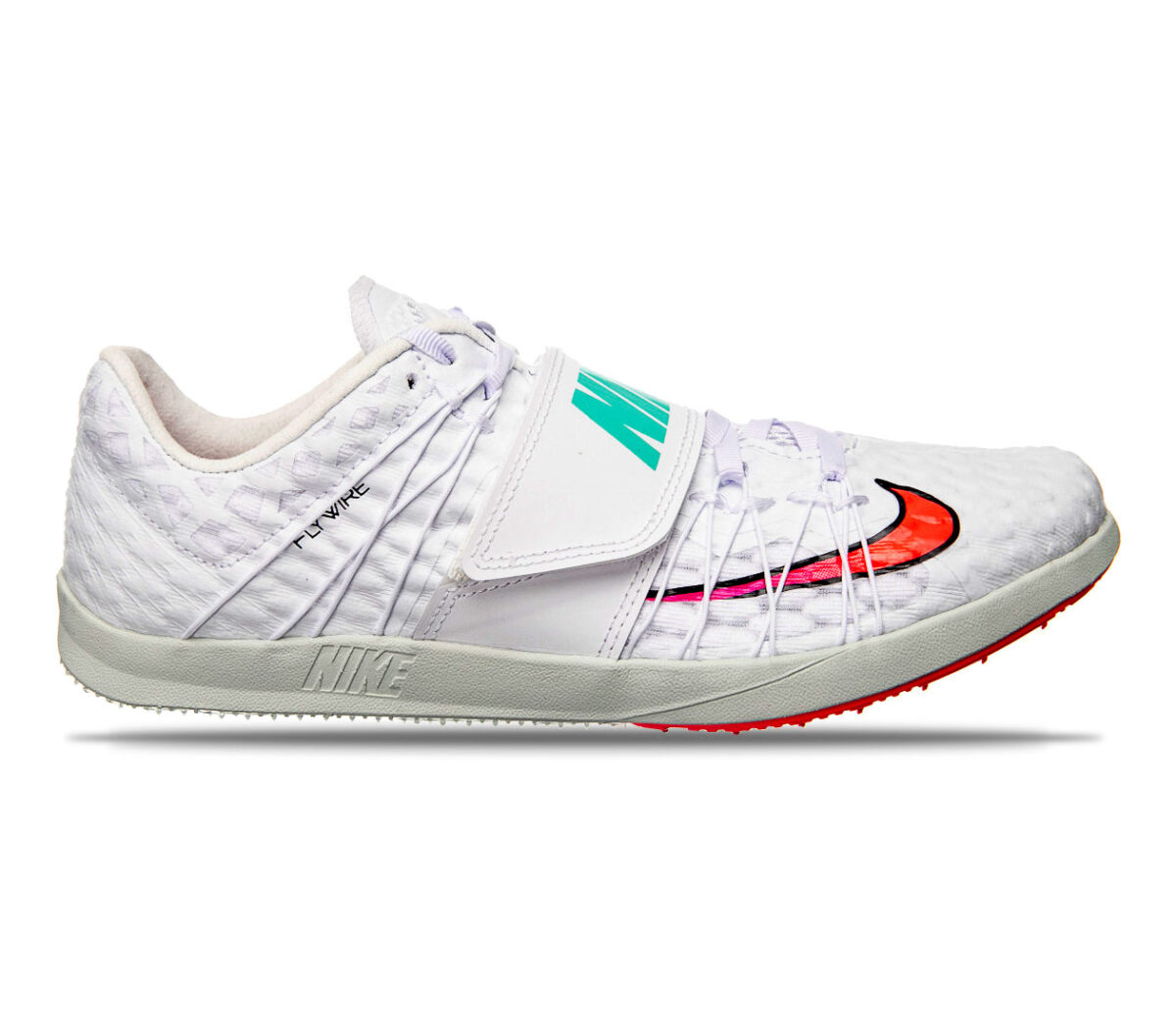 scarpa atletica salto triplo unisex nike triple jump elite bianca