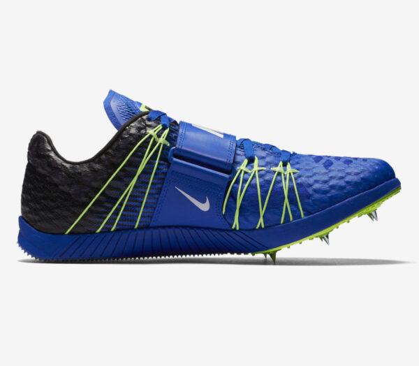 scarpa atletica salto triplo unisex nike triple jump elite blu