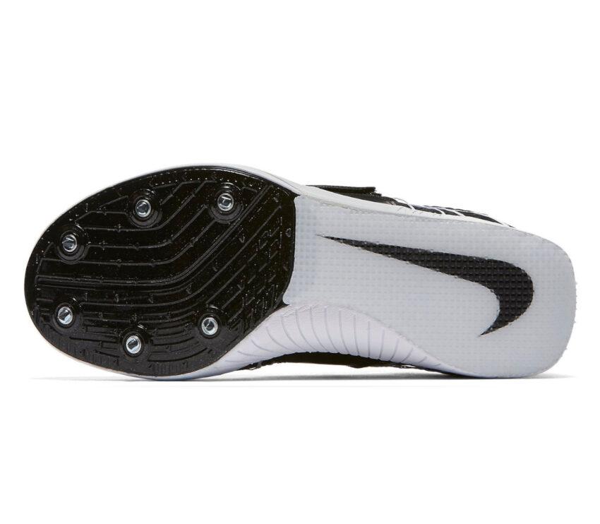 suola scarpa atletica salto triplo unisex nike triple jump elite nera e bianca