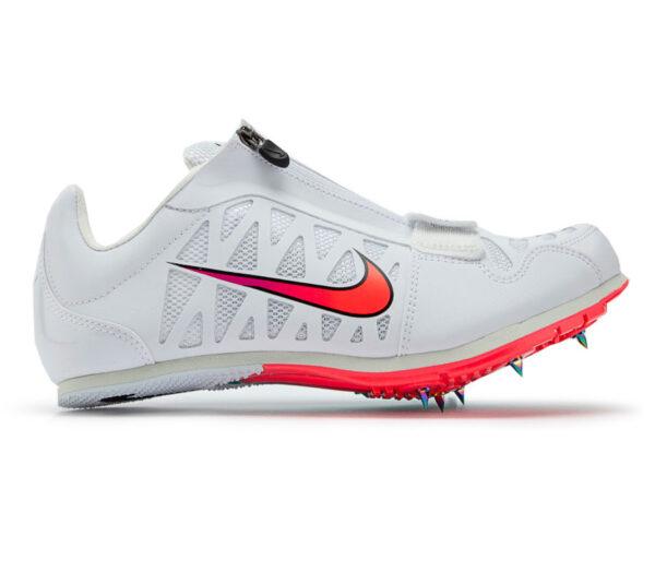 scarpa da salto in lungo unisex nike zoom lj 4 bianca e rosa