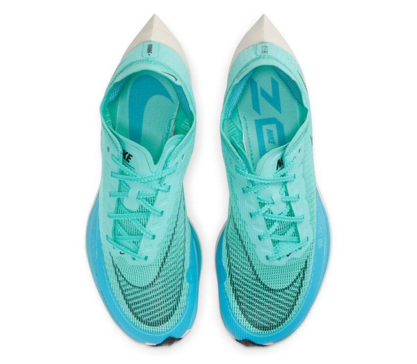 tomaia scarpa da running nike zoomx vaporfly next 2 da donna azzurra