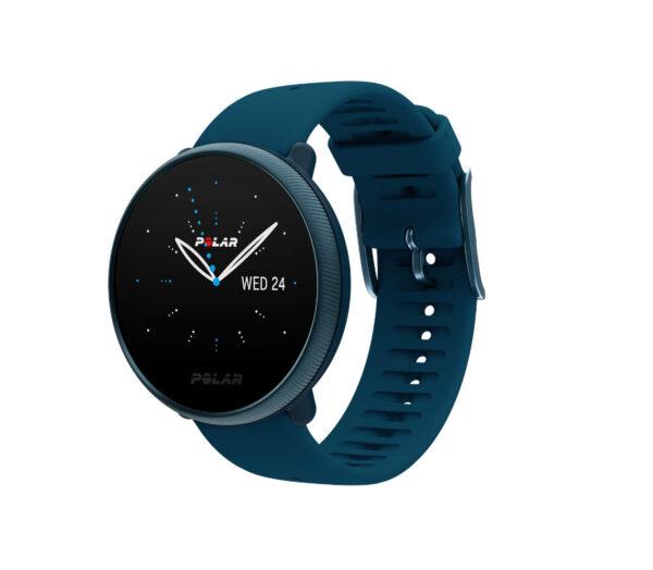 orologio polar ignite 2 blu gps running
