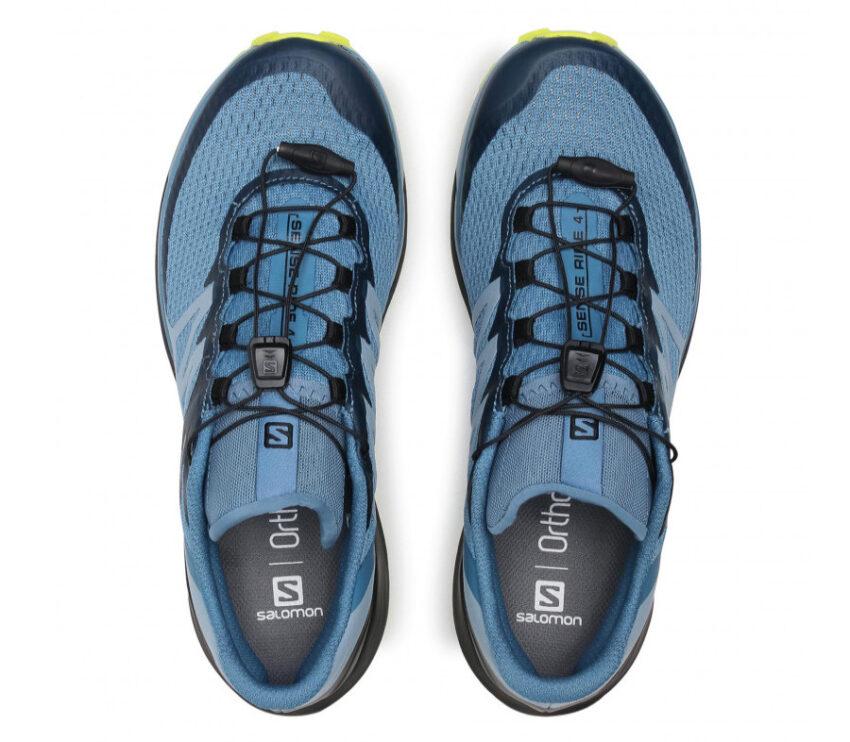 scarpe trail running da uomo salomon sense ride 4 blu