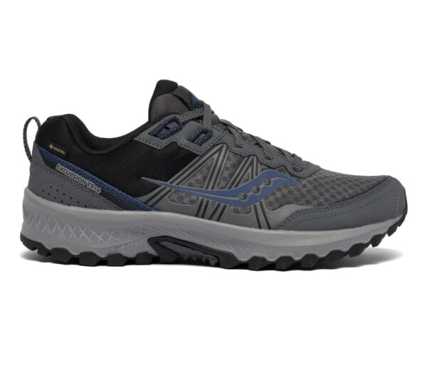 scarpa da trail running uomo saucony tr14 gtx grigia