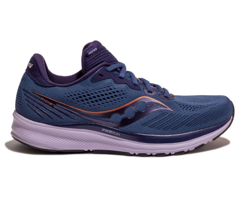 scarpe da running neutre per donna saucony ride 14 blu