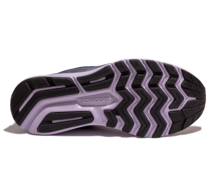 suola scarpe da running neutre per donna saucony ride 14 blu
