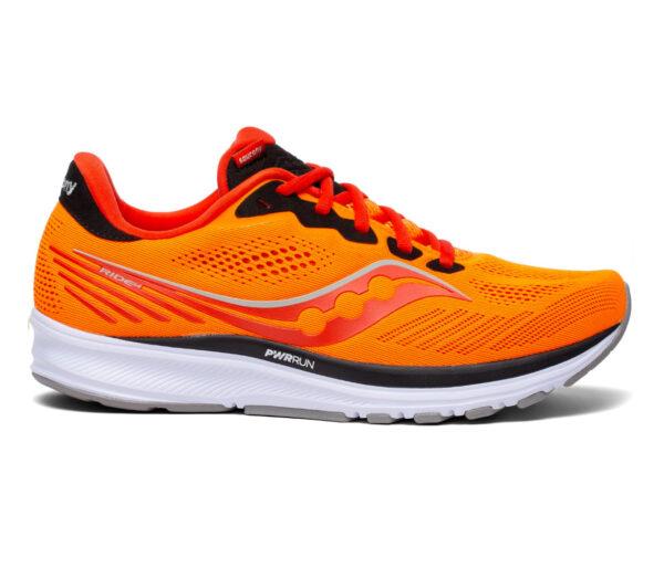 scarpa da running uomo saucony ride 14 arancione