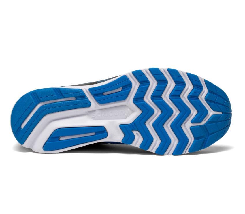 suola scarpa da running uomo saucony ride 14 blu