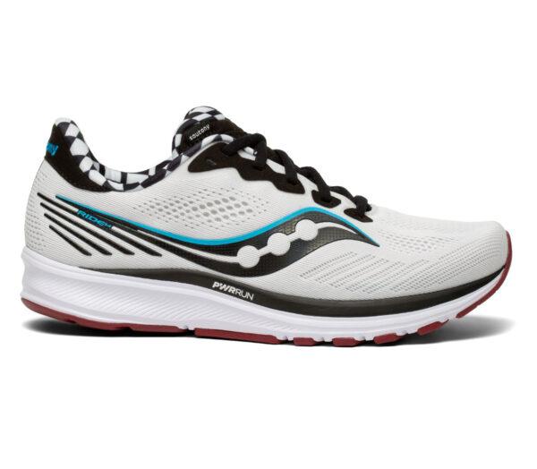 scarpa da running uomo saucony ride 14 bianca