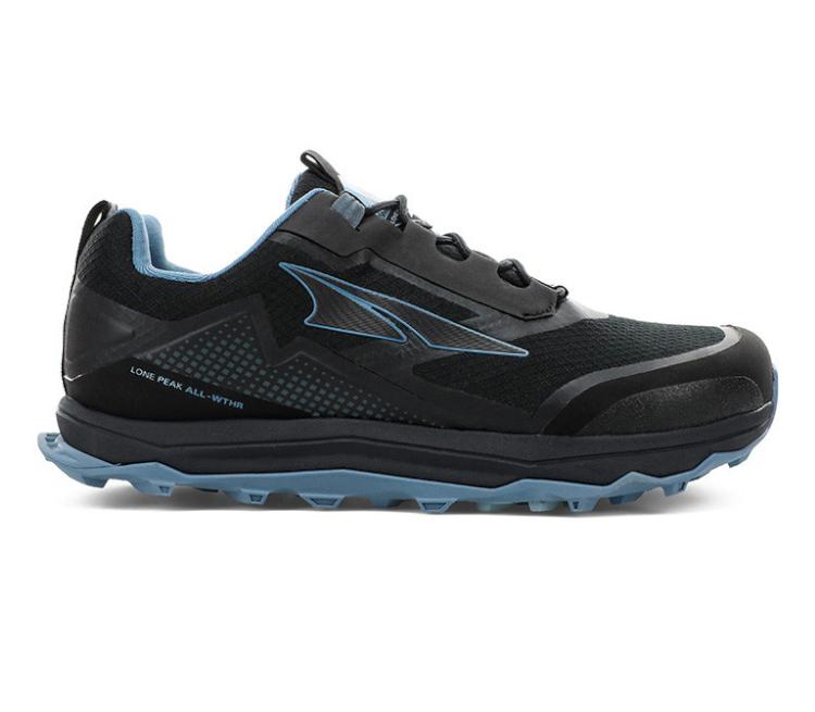 scarpe da trail running impermeabili da donna altra lone peak all wheater