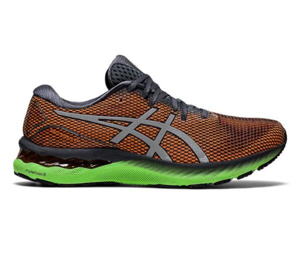 scarpa da running uomo asics gel nimbus 23 lite arancione