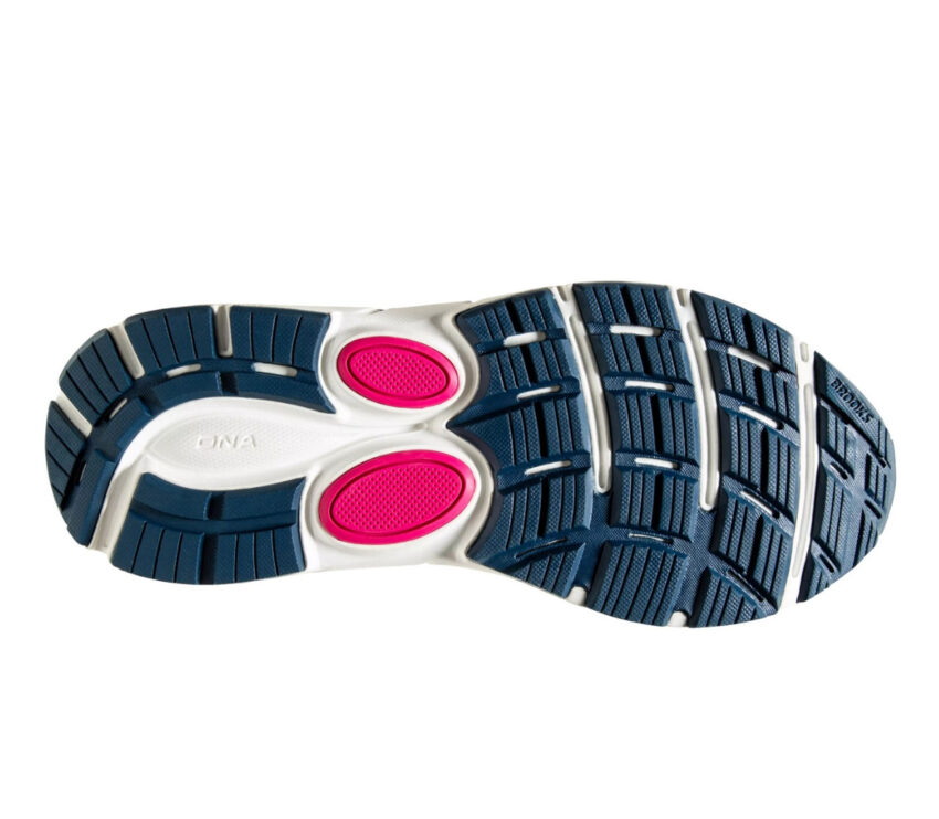 suola brooks dyad 11 donna scarpe running blu