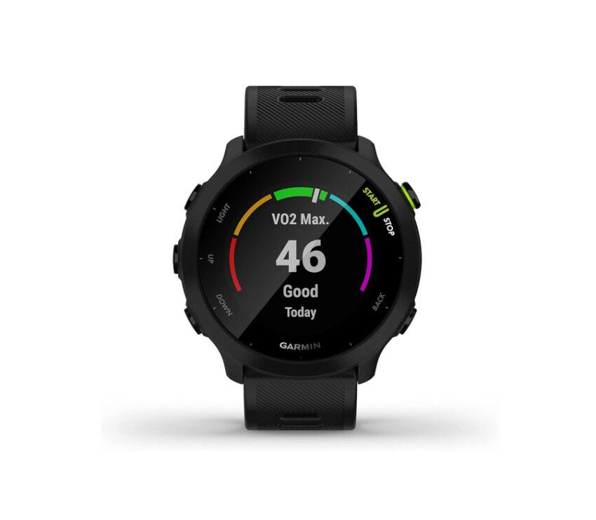 orologio gps running garmin forerunner 55 nero