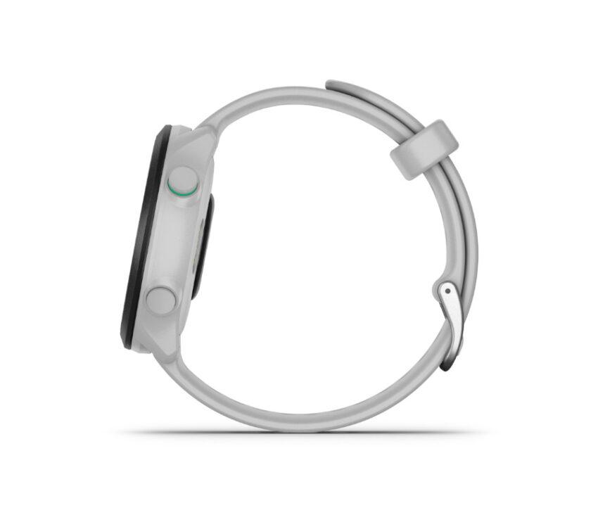 cinturino orologio da running gps garmin forerunner 55 bianco