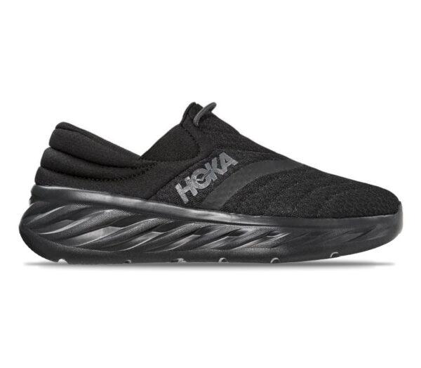 scarpa nera uomo da recupero post corsa hoka one one ora recovery shoe 2