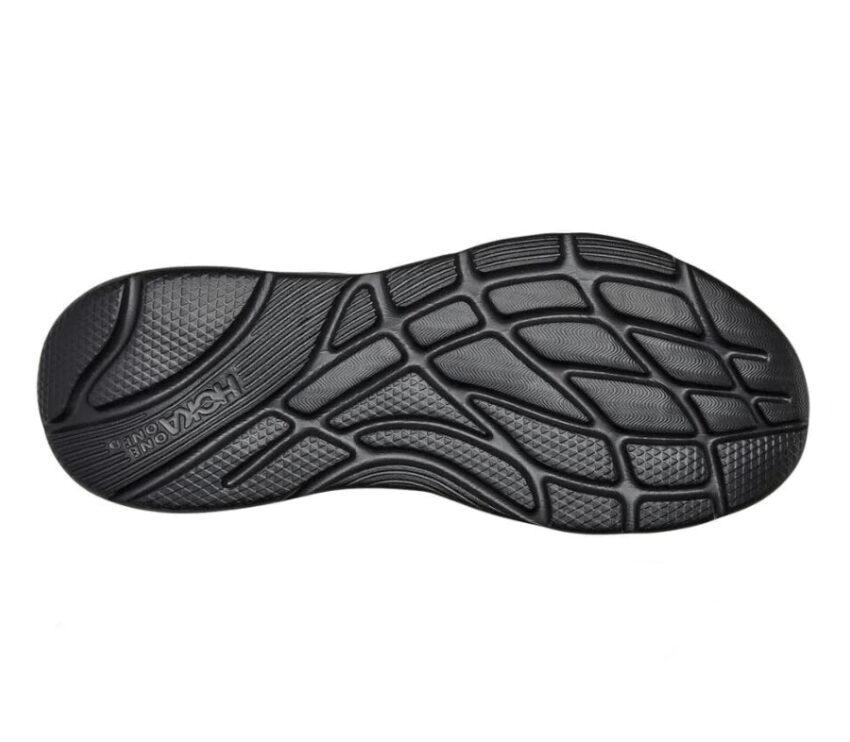 suola scarpa nera uomo da recupero post corsa hoka one one ora recovery shoe 2